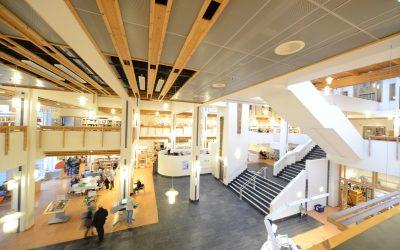 Arendal bibliotek åpner forsiktig opp fra mandag 18. mai